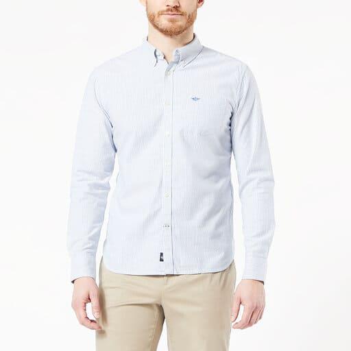 Ljusblå studentskjorta för herr 2021