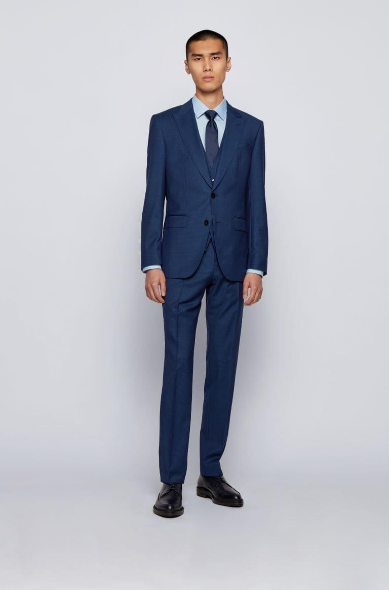 Mörkblåstudent kostym för herr 2021